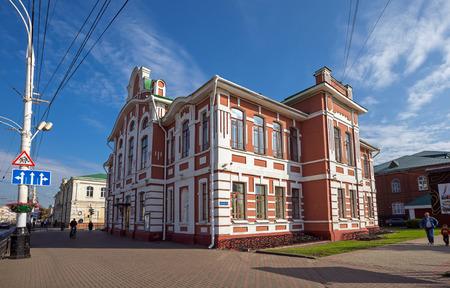 named: TAMBOV, RUSSIA - SEPTEMBER 13, 2014: Tambov State Musical Pedagogical Institute named Sergei Rachmaninoff (Rachmaninoff Music School)