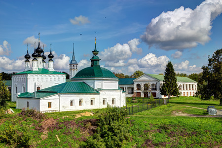 golden ring: Ancient Russian churches in Suzdal. Golden Ring of Russia