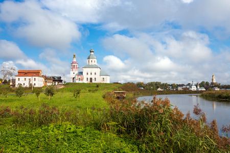 golden ring: Prophet Elijahs Church (1744) in Suzdal, Golden Ring of Russia