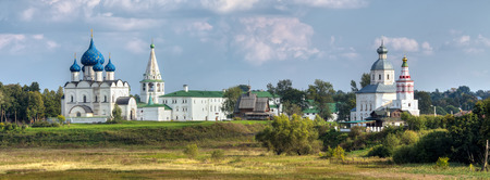 prophet: Suzdal. Russia. View of the Suzdal Kremlin and the Church of Elijah the Prophet