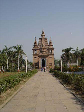 sarnath: Sranath monastery Stock Photo