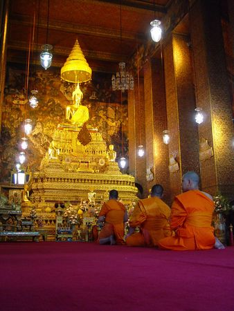 Buddhist templ from Thailand photo