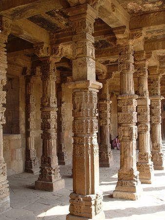 minar: Kutab Minar -  India, Dehli Stock Photo
