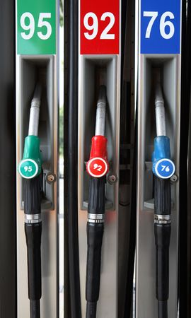Three Petrol Pumps photo