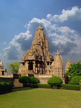 khajuraho: Khajuraho temple. India