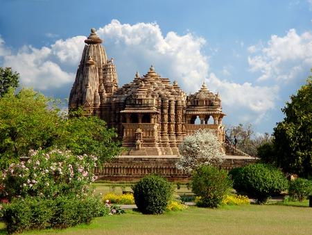 khajuraho: Khajuraho Templo. India