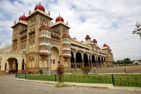 Maharaja`s Palace ot Mysore. India Stock Photo - 3376311