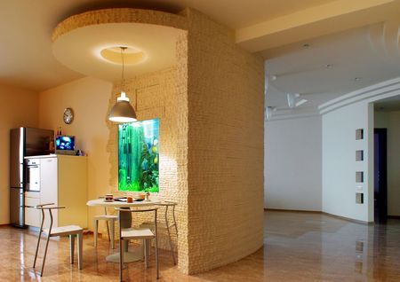 vestibule:  Kitchen and vestibule