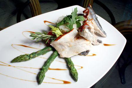 plato de pescado: Plato de pescados