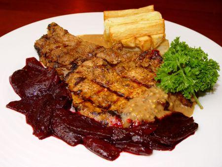 stake: Stake potato and liver