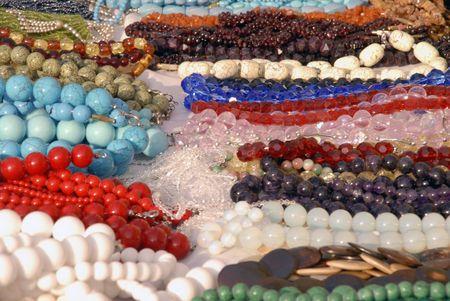precious stones beads photo