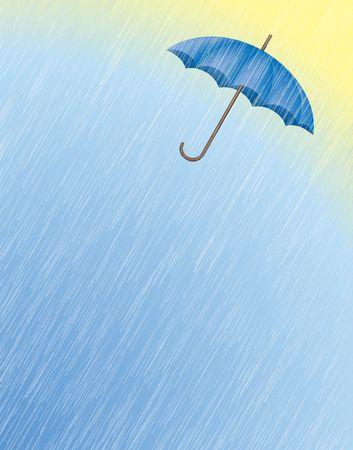 Digital Illustration � partir de z�ro. Gradient Mesh. Rain effet est rendu avec un auteur de la technique.