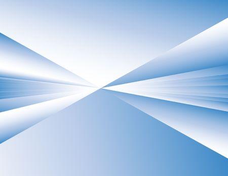 fractals: Blue perspective fractals. Background. Digital illustration. Stock Photo