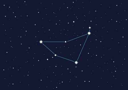 vector illustration of constellation  Stock Vector - 3409852