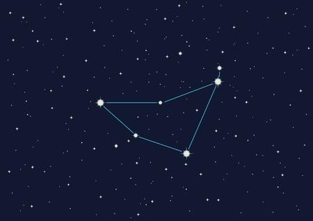vector illustration of constellation Stock Vector - 3409852