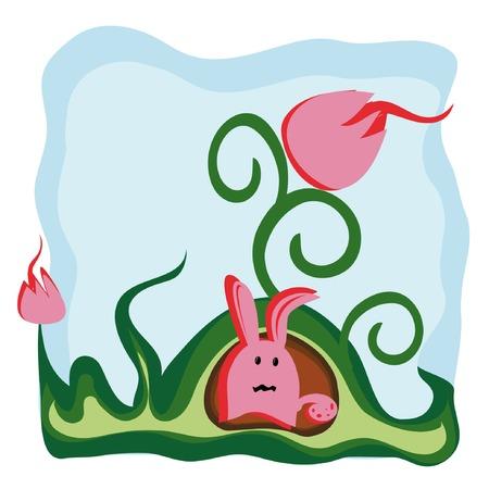 fib: vector de fondo con dibujos de hadas criatura 1