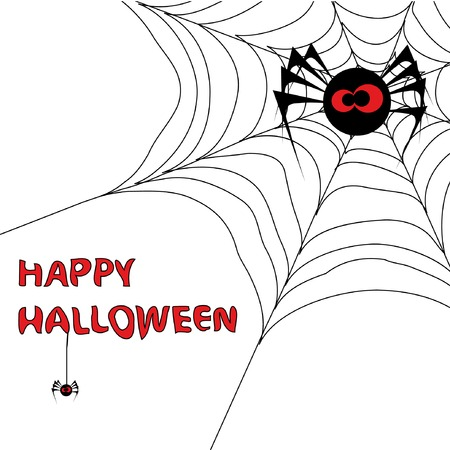 spider net: Halloween background with spiders web 3. You can find similar images in my gallery!