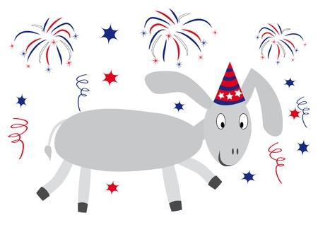 find similar images: Illustration of happy donkey. You can find similar images in my gallery! Illustration