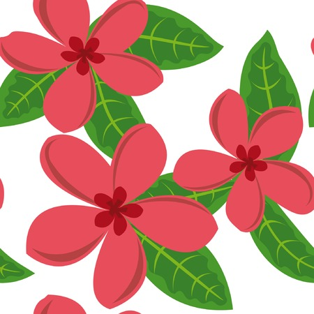 Beautiful floral seamless pattern. Vector illustration. Vector