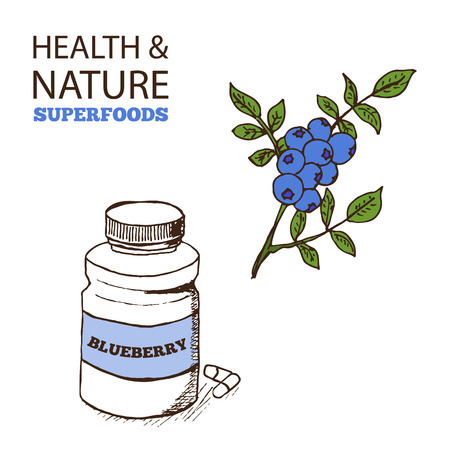 concentrate: Health and Nature Superfoods Collection.  Blueberry Concentrate