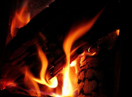 lightup: Fire in the fireplace