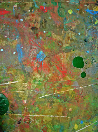 Grunge old colorful wall close up photo