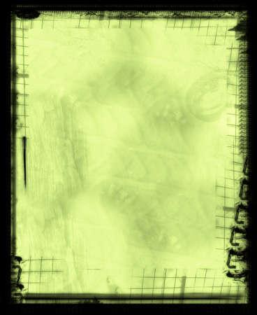 Computer designed grunge border and background