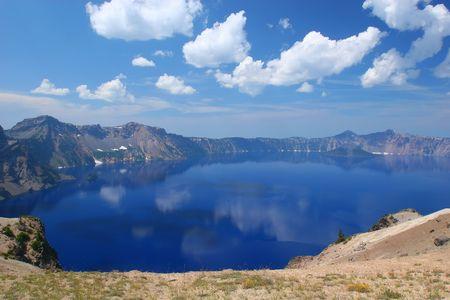 crater lake: Crater Lake National Park, Summer, Oregon, United States