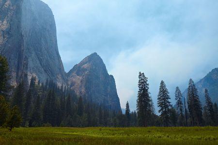 Yosemite Valley, Yosemite National Park, California, USA Stock Photo - 7563816