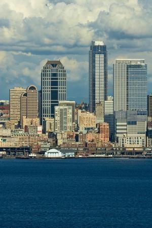 Seattle Skyline, Washington, USA photo