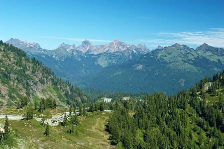 mt baker: Mountain Landscape, Mt  Baker, Washington, USA