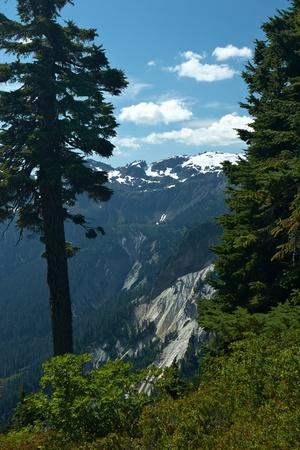 mt baker: Mountain Landscape, Mt. Baker, Washington, USA Stock Photo