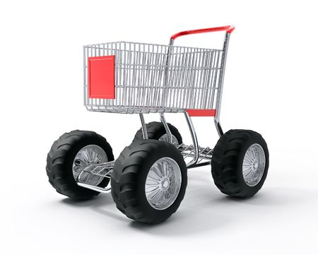Shopping cart tubo speed photo