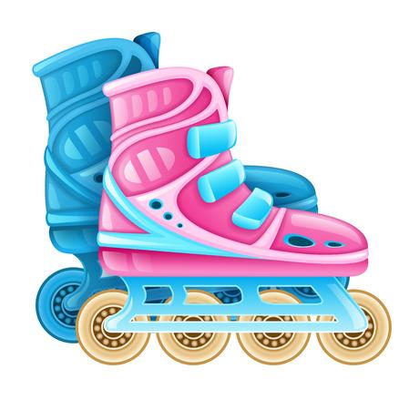 diversion: Roller for rolling.  Illustration