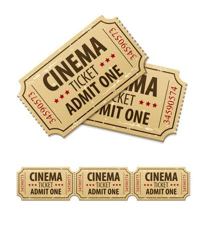cinematograph: Entradas de cine viejos para el cine.