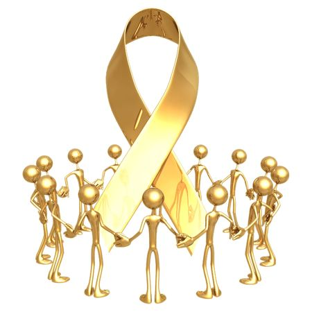 Group Awareness Ribbon Stock Photo - 818713