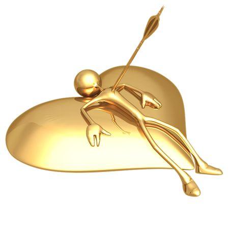 icon idea idiom illustration: Cupid Arrow