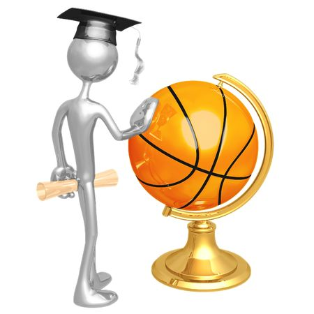 Basketball Scholarship Stock Photo - 4355214