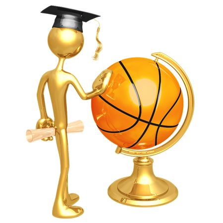 Basketball Scholarship Stock Photo - 4355208