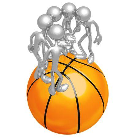 huddle: Basketball Team