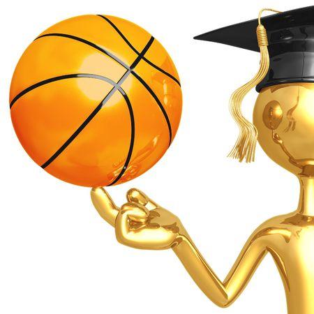 Basketball Scholarship Stock Photo - 4356411