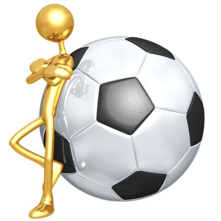soccerball: Attitude Soccer Football