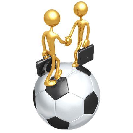 Soccer Football Business Stock Photo - 4356048