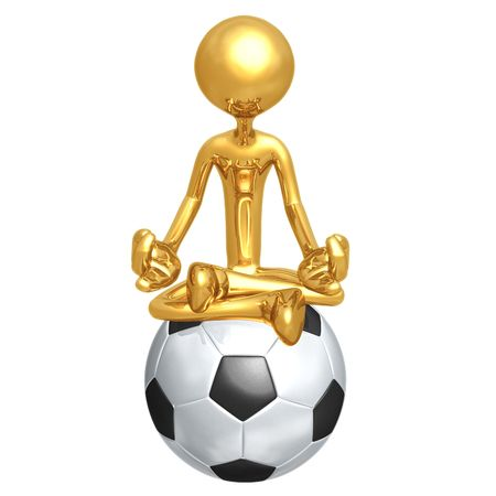 yoga meditation: Soccer Football Guru