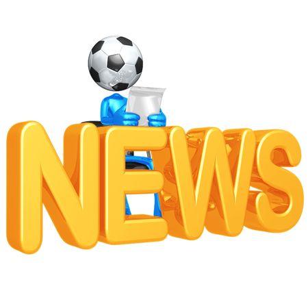 soccerball: Soccer Football News Stock Photo