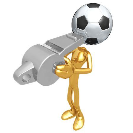 linesman: Soccer Football Whistle