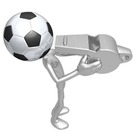 Soccer Football Whistle photo