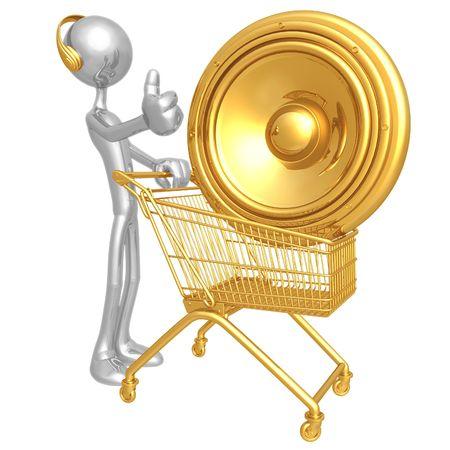 Music Shopping photo