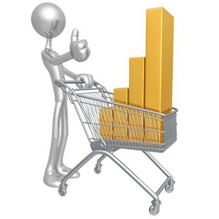 Retail Performance Stock Photo - 4365066