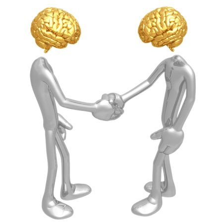 idiom: Meeting Of The Minds
